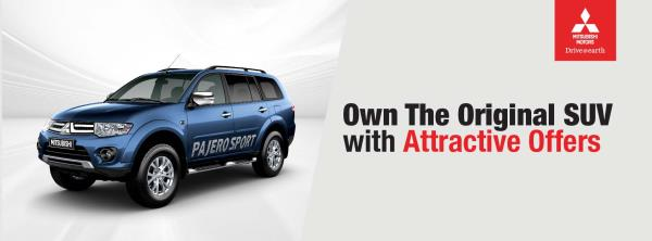 Own the original SUV with Attractive offers, Pajero Sport. - by Pride Mitsubishi Call 04039594699, Hyderabad