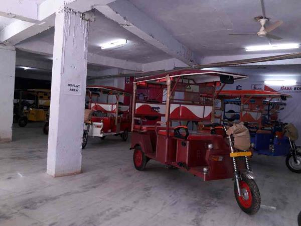 BABA E VEHICLES MANUFACTURER NEW SHOW ROOM IN DELHI MAHARANI BAGH  - by e rickshaw  Manufacturer & Supplier, Ghaziabad