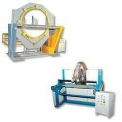 "Salient Features of Spiral And Coil Wrapping Machines :- * Manufactured in ring with stretch film, wrapping paper. * Packing surface is tightly packed and is completely moisture and dust proof packing and protect the product * Spiral wrapping machine wraps product that won't fit on turntable, require banding, compression or extra packing. * Product moves down via conveyor through arch way. * Stretch film is applied automatically along the in fine length of package. * This machine is widely used in many industries such as profiled product, tubular product, long pipe, long aluminum section, PU section, long PU door etc. * Machine is available for 4"" product dia. to 60"" product dia. and infinite length.  Spiral And Coil Wrapping Machines in vadodara Gujarat  Spiral And Coil Wrapping Machines in bharuch Gujarat  Spiral And Coil Wrapping Machines in Gujarat india"