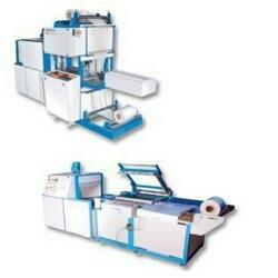 Salient Features of Shrink Wrapping Machines :- * Sturdy construction. * Manual / auto feed in to tunnel. * Manual / pneumatic operated sealing frame. * Sealing frame with magnatic lock. * 10 to 15 packs per minute output. * Controllable sealing time.  Shrink Wrapping Machines in vadodara Gujarat  Shrink Wrapping Machines in bharuch Gujarat  Shrink Wrapping Machines in surat Gujarat