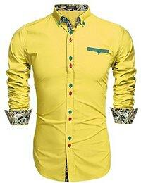 Digamber Art And Craft is fulfill the basic needs of people who are searching for Best quality material wear.Yellow party Shirt is better option for night and day hangout in vadodara, gujarat.