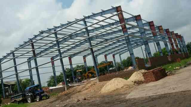 Pre engineering building, color coated profile sheets, purlins, down take pipes, flashings, crimp sheets, 4 ft profile sheets. We manufacture all items in house with complete turnkey solutions. - by Vibgyor Engineering Systems, Jaipur
