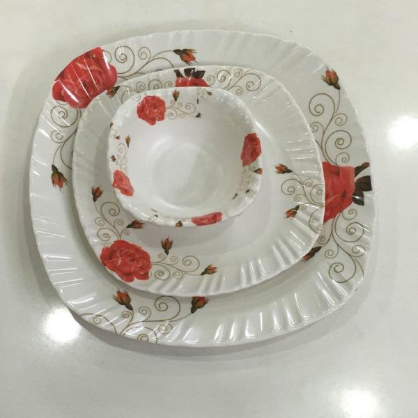 Melamine dinner plate & veg. Bowl. - by Prestige plastics india, New Delhi