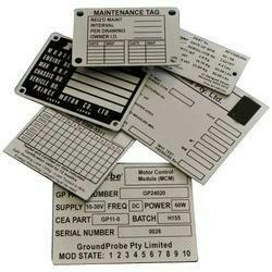With a focus on the ever-evolving demands of our customers, we have come up with a wide range of uniquely designedAluminium Name Plates.  Aluminium Name Plates in Vadodara Gujarat  Aluminium Name Plates in anand Gujarat  Aluminium Name Plates in Surat Gujarat  Aluminium Name Plates in Makarpura Vadodara