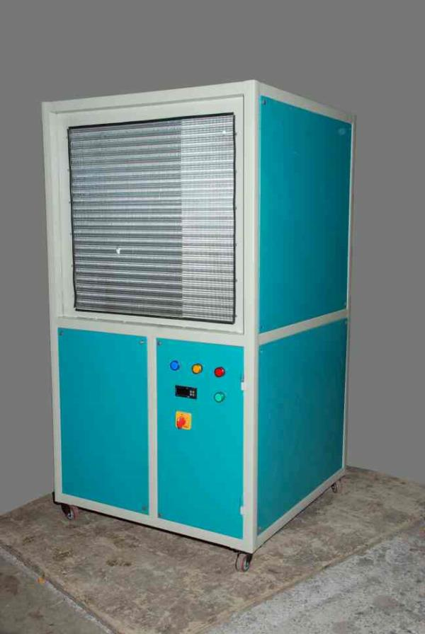 industrial online chiller plant - by Shree Umiyaji Refrigeration, Rajkot