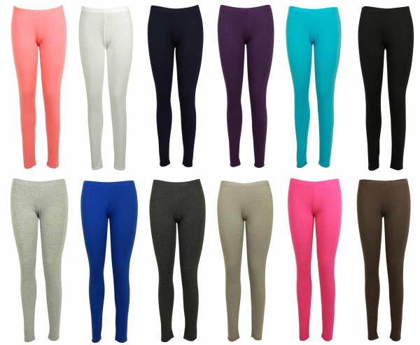 Leggings Available Now at Discount!! Attractive and Quality Fabric Legging not just only give you Attractive Look but also the comfort.  Specifications: Fabric: Cotton Lycra Size: Free, XL & XXL GSM: 180 Extra: Bio-Wash, Soft Silicon  To pu - by Jyoti Garments - Online Leggings Store, Delhi
