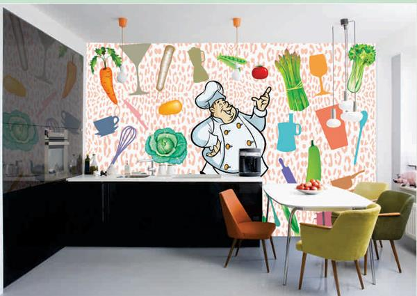 Kitchen Wallpapers Designs to Giving an Appealing Look  Getting a new Kitchen fitted has meant sacrificing either form or function for too long. There are a wide collection of wallpapers that can be the perfect solution for Kitchen. Nobody - by Imported Wallpapers & Imported Wallcoverings, Gurgaon