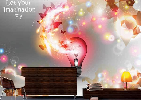 Give a Stunning Look Through Wallpapers to Your Office Walls   In the office, those who want to paint walls into different colors rather than standard white, these wallpapers design are an excellent option, not only in the office but also a - by Home Furnishing Store, Gurgaon