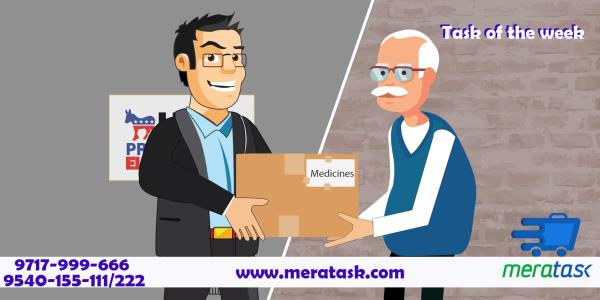 Meratask cares for you It's a common mentality amongst the general Indian population that once kids settle abroad, they tend to forget their parents back home. Unfortunately, they are not wrong, as there have been numerous instances of sons - by www.meratask.com, Delhi