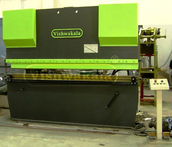 We are leading manufacturer and suppliers of Hydraulic Press Brake in rajkot with many ranges as per capacity and also maintaining best quality.