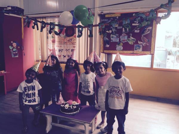 Birthday celebration  - by Olive Green Kids School, Ahmedabad