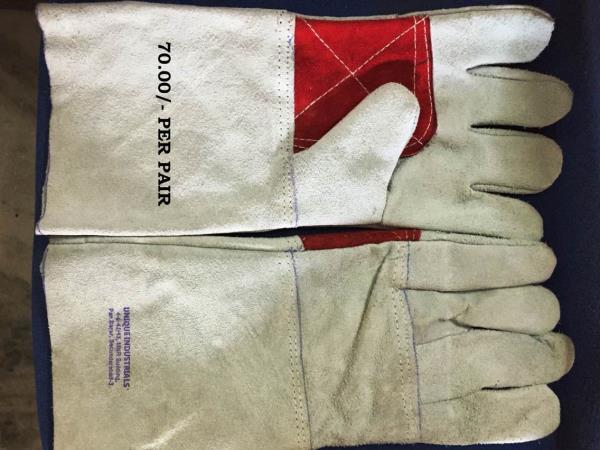 Welding gloves double Palm 14