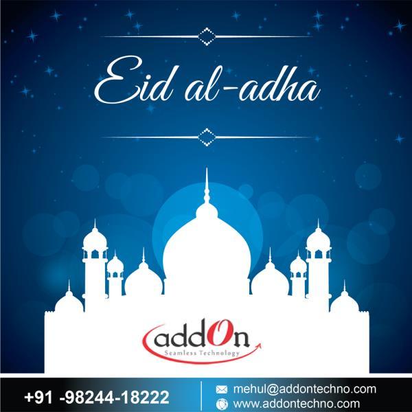 "Addon Technology Wishing Everyone ""Eid Mubarak"" #eidmubarak - by Addon TECHNOLOGY, vadodara"