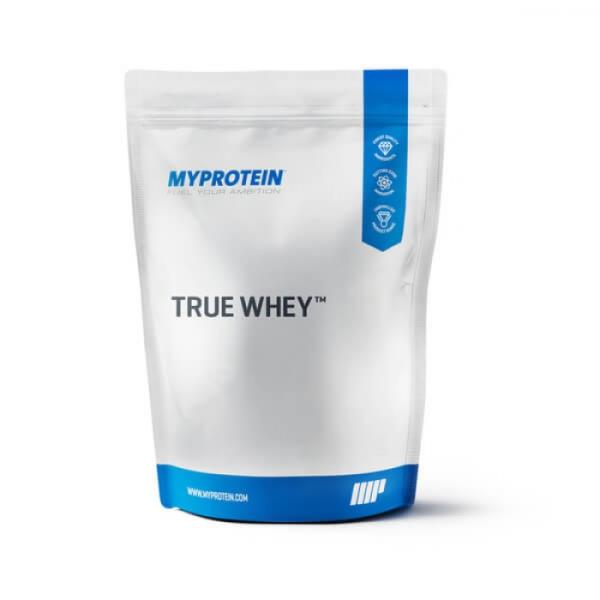 Buy at lowest price from india protein.  http://indiaproteins.com/True-Whey-2.27-Kg?search=myprotein  True Whey is an advanced formula containing over 74% of protein content in addition to digestive enzymes. True Whey comes in a myriad of m - by India Proteins, New Delhi