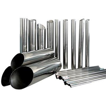 """Stainless Steel Polished pipes  Grade - 202, 304 and 316  Make - Jindal  Size - 1/2"""" to 4"""" OD Thickness - 20 swg, 19 swg, 16 swg, 14 swg, 10 swg. MTC - Available  Finish - Mat Polish and Mirror Polish Stock - Delhi and Mumbai  - by Variety Metal Corporation   +91 9810369969, New Delhi"""