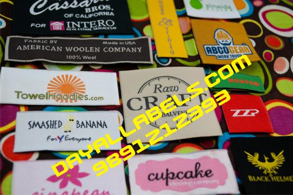 SATIN OR WOVEN LABELS IN DELHI NCR  We have verity of Labels. Cloth labels like shirt labels, Jeans Labels, Ladies garment Labels or kid & Gents cloth Labels for all sizes & colours. contact or whatsap 9891212393 CLOTH LABELS IN DELHI NCR C - by Wall Decal  | Dayal labels, Delhi