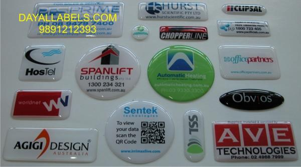 Epoxy labels manufacturers in delhi ncr  The Epoxy labels are different size & colour., very fine & easy to paste. For more details call or whatsap 9891212393  Epoxy Labels in Delhi ncr Epoxy Stickers in  Noida  Dome labels or Epoxy Labels  - by Wall Decal  | Dayal labels, Delhi