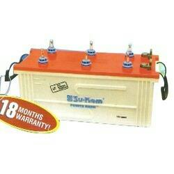 We are active in offering a wide collection of Inverter Battery to our important customers. Delicately designed by our vendors in conformity with the clients' preferences, these products are the best in quality. Acknowledged for their perfect finish, this quality guaranteed array is made available in assorted specifications. Clients can effortlessly purchase these luxurious quality products from us at affordable prices.
