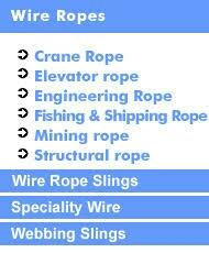 CRANE ROPE... ELEVATOR ROPE... ENGINEERING ROPE...FISHING ROPE...SHIPPING ROPE...MINING ROPE...STRUCTURAL ROPE...WIRE ROPE SLINGS...SPECIALITY WIRE...WEBBING SLINGS...PARAMOUNT BEARING CO CHENNAI... - by Paramount Bearingco, CHENNAI