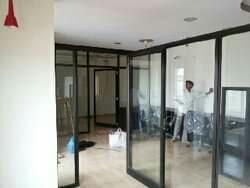 We are devotedly engaged in providing our clients supreme qualityFull Glass Partition Work.Our offered service is highly acknowledged in the market for its perfect execution and reliability. We render this service as per the clients' precise requirements in order to provide them maximum satisfaction. This service is rendered under the vigilance of dexterous professionals using modern tools and techniques as per the set industry standards. Also, we provide this service to our clients at a reasonable price within scheduled time frame.