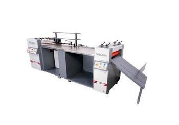 Manufacturer Of  Hard case Maker Machine Model-PREMIER In Mumbai  Economic High quality Multi-use Hard Case Binding Machine:  Experienced engineers, dedicated team, Innovative design and heavy duty construction makes sure of consistent high - by Vallava Graphic Machinery, Waliv