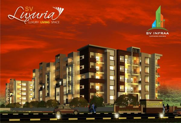 2& 3 Spacious Flats in Kanakapura Main Road with Good amenities - by SV Infraa, Bangalore