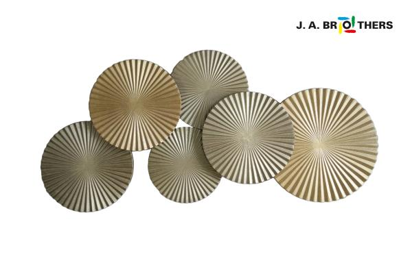 WOODEN WALL DECOR NO JAW-006 WITH SIZE: 45