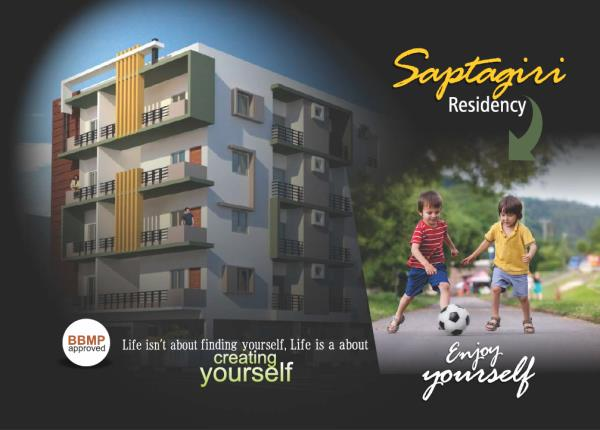 Residential Flats for Sale at Bannerghatta Road SAPTHAGIRI RESIDENCY 2 & 3 BHK Flats Available at Bannerghatta Road, Vijaya Bank Layout Call for More details:- Bharath - 9900010331 / 080-22585533.   - by Keystone Properties, Bengaluru