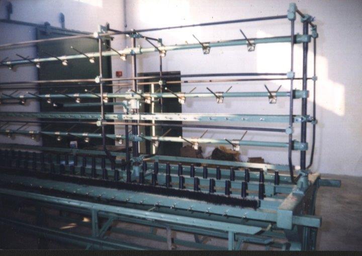 Cone Creel type Reeling  Machine (40) Cops Type Reeling Machine (pegs)