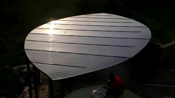 Polycarbonate Roof Using 10 mm Multiwall Sheet   For More Details   www.rkamdarenterprise.com