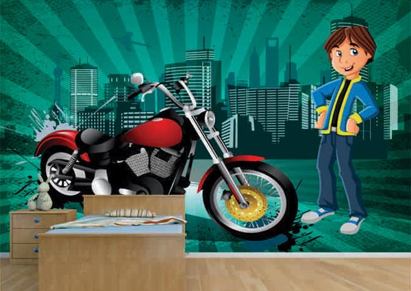 Wallpapers Designs for Kids Room on Wall Art   Looking for best wallpaper designs that motivate your child's? Wall Art have best eye-popping wall murals for your children's room. You can find options like as sports wallpapers, science wallp - by Home Furnishing Store, Gurgaon