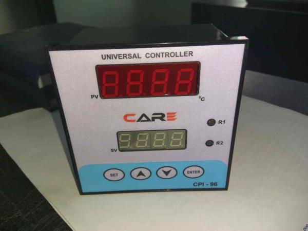 We are manufacturer of digital process Indicator.  With Universal Input.  One & Two relay Output.  Transmitter  Supply 24V. - by Care Process Instrument, Ahmedabad