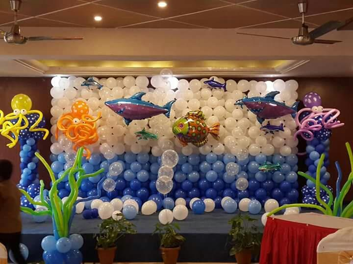 we are the best theme decorator in bangalore with experience of more than  4 years in the market....and we have done many events out of bangalore also....