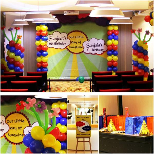 Thanks to Mum & Dad of Sanjeev & Sanjala for giving us this opportunity. Event: Birthday Party Scope of Work: Invitation Design, Backdrop Design, Balloon Decoration, Photographic, Returen Gifts, Venue Booking, Game Host & Entertainment(Jump - by Midor Events. Entertainments (Contact - +91-9791031974 / +91 - 95000 52381), Chennai