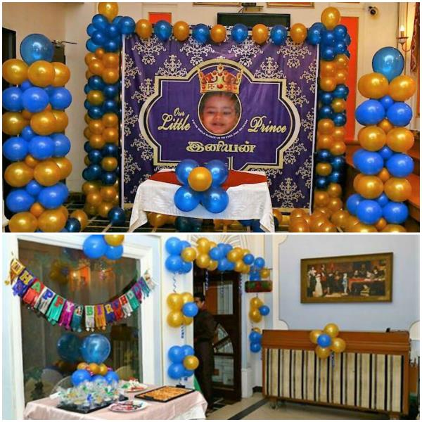 Thanks to Mum & Dad of Ineeyan for giving us this opportunity Scope of Work Little Prince Theme Design / Decoration / Photography / Return Gift / Cake #midorevents #midorentertainments www.midor.in - by Midor Events. Entertainments (Contact - +91-9791031974 / +91 - 95000 52381), Chennai