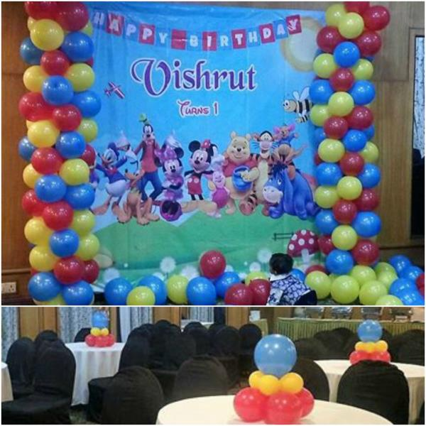 Thanks to Mum & Dad of Vishrut for giving us this opportunity Scope of Work Mickey Mouse Family Theme Design / Decoration / #midorevents #midorentertainments www.midor.in - by Midor Events. Entertainments (Contact - +91-9791031974 / +91 - 95000 52381), Chennai