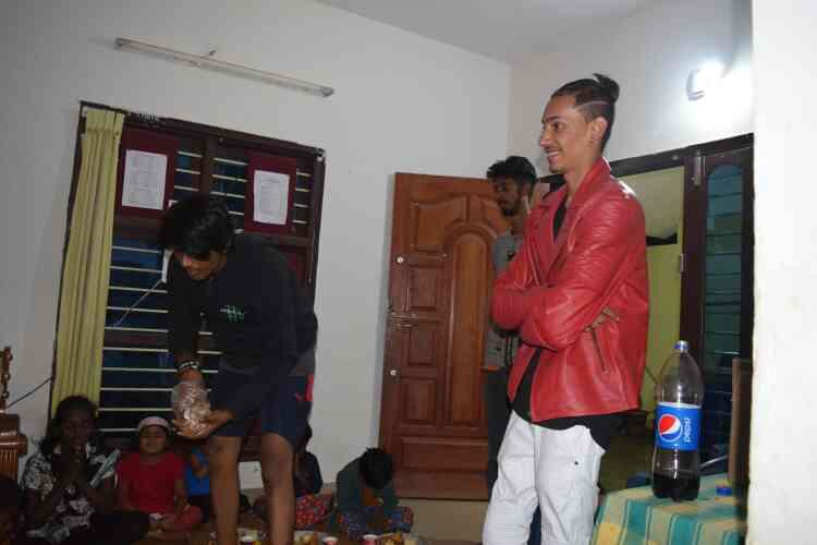 Pawan Birthday may God bless you and your friends  - by Rays Of Hope, Bengaluru