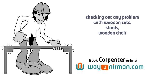 Checking out any problem with wooden cots, stools, wooden chair. - by Way2nirman Call 040-43434646, Hyderabad