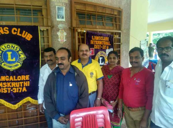 Today in Lalbagh FREE MEGHA CAMP on health was done successfully, I am proud to as LION HARISH C J  in LIONSCLUB of CENTENARY GREENS as if I am proprietor of M/S Avighna Power Solution From Jaynagar 7th BlOCK Authorised Inverter Dealers, Up - by Avighna Power Solution, Bangalore