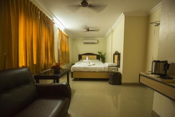 We are one of the leading hotels in Coimbatore situated opposite railway station. We provide the best of services. We have 48 rooms well appointed. The rooms are fully furnished and free wi-fi facility.