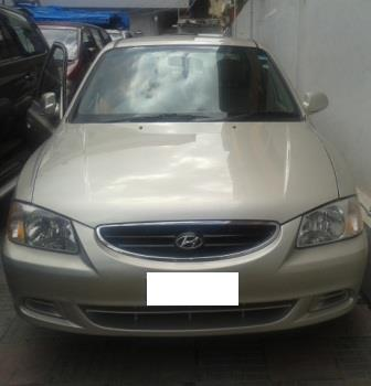 HYUNDAI ACCENT GLE:MODEL 10/2007, KM 53107, COLOUR REAL EARTH, FUEL PETROL, PRICE 265000 NEG.USED VEHICLE FOR SALE COMPLEAT SHOWROOM TRACK. - by Nani Used Cars, Hyderabad