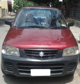 MARUTI SUZUKI ALTO LXI:MODEL 06/2010, KM 67389, COLOUR RED, FUEL PETROL, PRICE 200000 NEG.USED VEHICLE FOR SALE COMPLEAT SHOWROOM TRACK. - by Nani Used Cars, Hyderabad