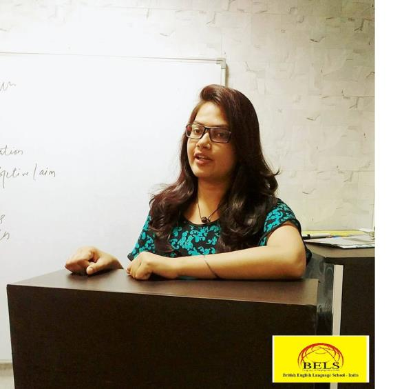 Before joining BELS, I used to hesitate in speaking in English and my main objective to join this institute was to improve my communication skills. Today, after one month of my joining at BELS I have been able to improve my speaking skills  - by BELS ENGLISH LANGUAGE, North West Delhi