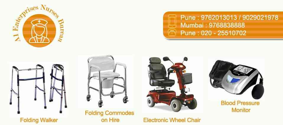 we are providers vinod chair hire and sells pune pinky ==02024575007 - by A-1 Enterprises Nurses Bureau@...02024575007/9768838888, Pune