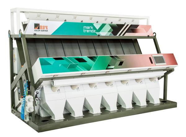 Rice Color Sorter machine in Manufacturer We are manufacturer of Rice Color sorter machines in Coimbatore..We have supply of more than 4000 machine in all over India Feature of Mark Trendz Machines 5000x3 pixel Trichromatic Color Camera Chute available 5 Chute to 10 Chute FPGA image processing is minimum flaw size 0.10mm  www.marksorter.com