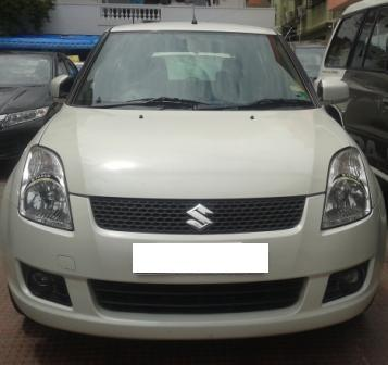 MARUTI SUZUKI SWIFT VDI:MODEL 03/2009, KM 74780, COLOUR WHITE, FUEL DIESEL, PRICE 415000 NEG.USED VEHICLE FOR SALE COMPLEAT SHOWROOM TRACK.  - by Nani Used Cars, Hyderabad