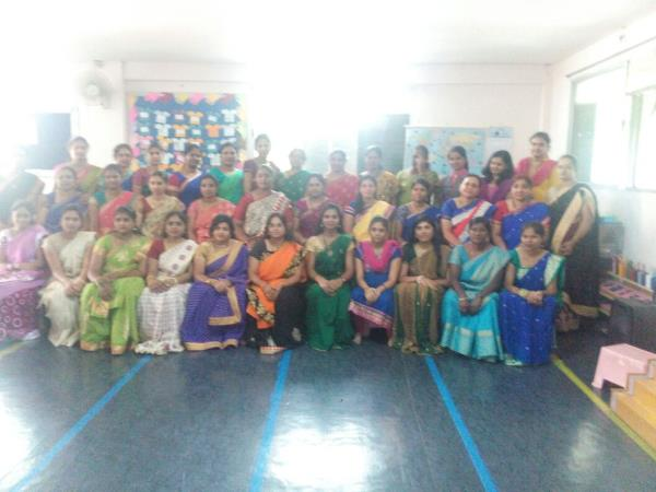 Nursery Teachers Training in Basavanagudi Short Term & Long Term NTT courses Weekend / Regular Classes Effective Practical & Theory Sessions Art & Craft, Drawing & Painting, Calligraphy, puppet making, Origami, included in the course Montessori Material training..