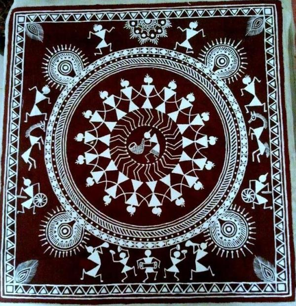 Maven is conducting one day warli painting workshop on canvas for the age 7 years & above. Date : 25th (sunday) of September 2016 Timing : 3.30 pm to 5.30 pm. Please call us for Pre - Registration : 044- 24830787/ 9094990718 /9840473664 - by MAVEN THE ART ACADEMY, Chennai