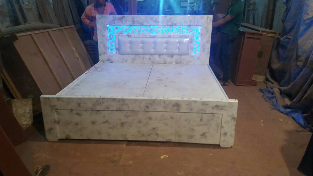 L.E.D Bad - by The Green Apple furniture &Interiors, 5-8-57/1to 6 Beside Kamat Hotel Nampally Station Road