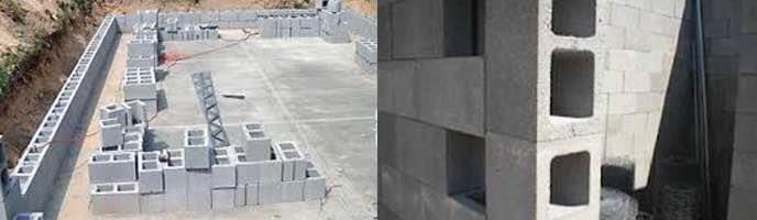 Hollow Blocks  Hollow blocks are one of the major products at ABC. They play a vital role in the construction filed. They are also used as a substitute to traditional bricks for construction of boundary walls, isolators, shed walls etc. They are more economical to standard blocks.  At Advance Built Care Pvt. Ltd. we ensure that our products are best for the purpose. This contributes towards every step of your success. We see to it that all your requirements are met with our high quality products.  Hollow blocks are available in sizes of: 390 X 190 X 190 mm as a standard specimen but they can be customized in quantity as per your need.  We are located at Vadodara , Gujarat.   We can supply Hollow Blocks at surat, Gujarat.   We also supply Hollow Blocks at Ahmedabad, Gujarat.